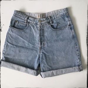 Guess Vintage Button Fly Denim Shorts